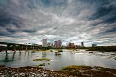 RVA Big Sky (Sky Noir) Tags: city sky skyline river skyscape big scenery day cloudy scenic richmond va 804 rva skynoir