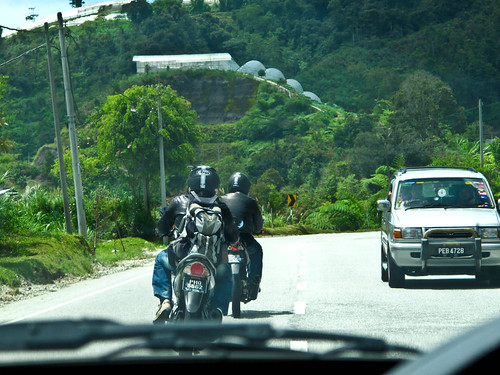 IMG_2379 Motorcyclists - Cameron Highlands