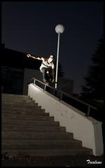 Lowik Verges  Salies (Trialxav) Tags: cactus apple night stairs macintosh mac nikon osx flash rail roller wireless d200 v4 sb24