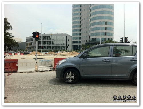 Traffic lights replaced Rothman's roundabout in SS2