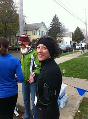 finished running the Goblin Gallop, 10/29/11