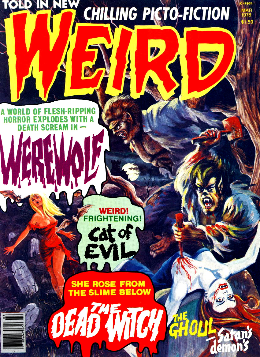 Weird Vol. 11 #1 (Eerie Publications, 1978)