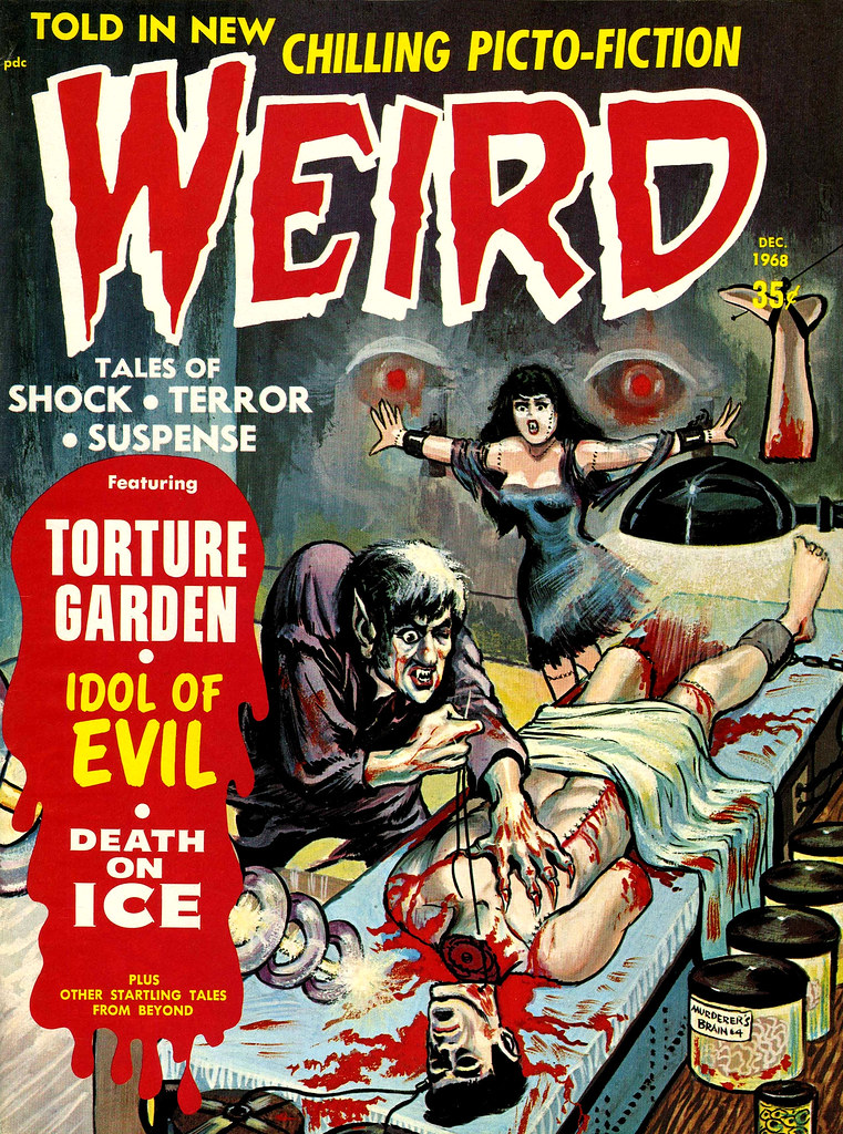 Weird Vol. 02 #10 (Eerie Publications, 1968)