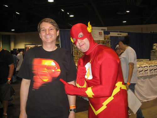Me and the Flash at Long Beach Comic Con