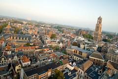 Urban Photo Collective @ Neudeflat, Utrecht, September 2011 (lambertwm) Tags: city sunset church zonsondergang utrecht domtoren view cathedral thenetherlands uitzicht kerk stad dedom neudeflat urbanphotocollective upc0911 upc030