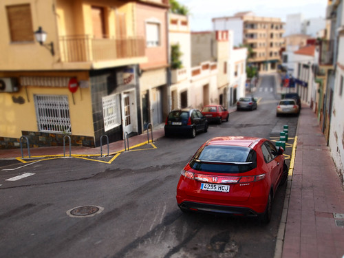 Fake tilt-shift