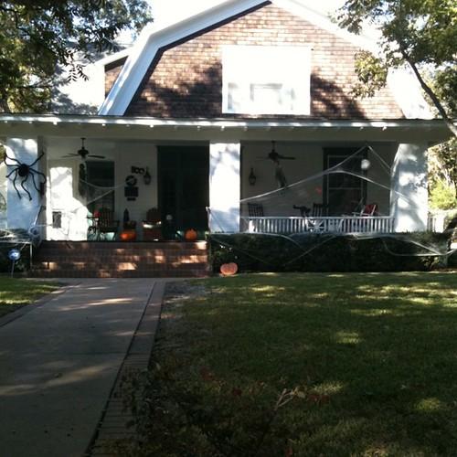 Spooky house, says Bea