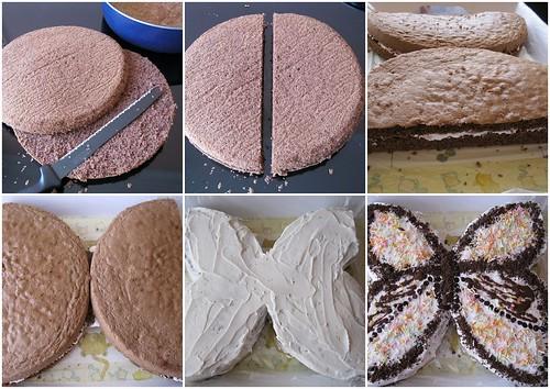 kelebek pasta yapılışı
