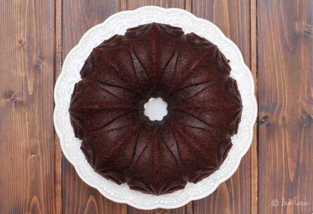 Chocolate Stourt Bundt Cake
