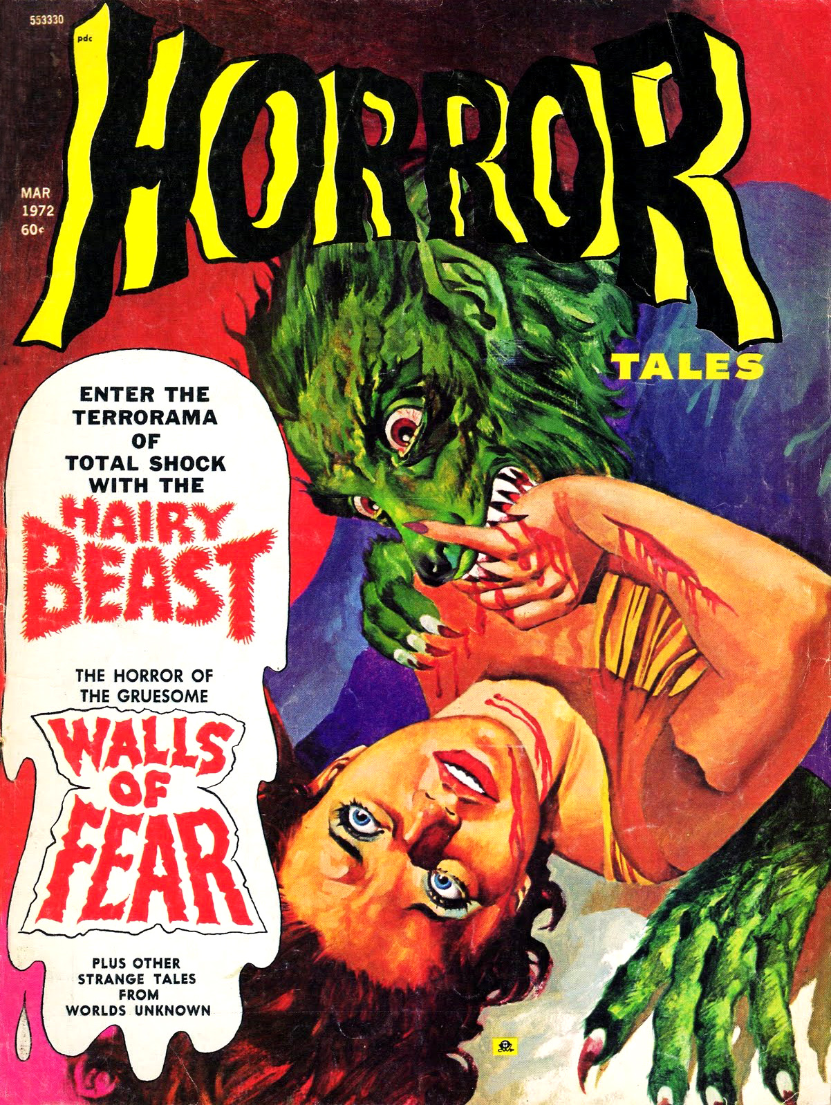Horror Tales - Vol. 4 #2 (Eerie Publications, 1972)
