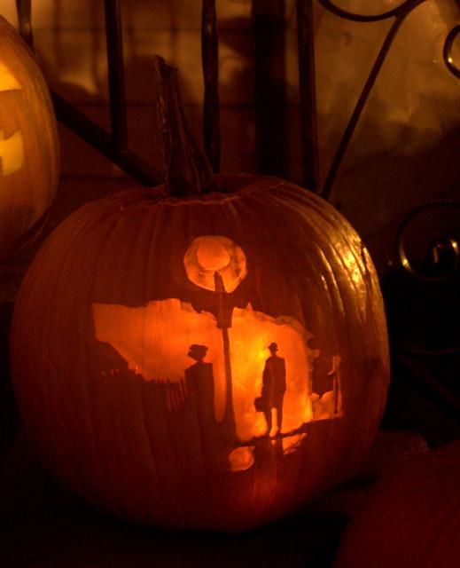 Exorcist pumpkin