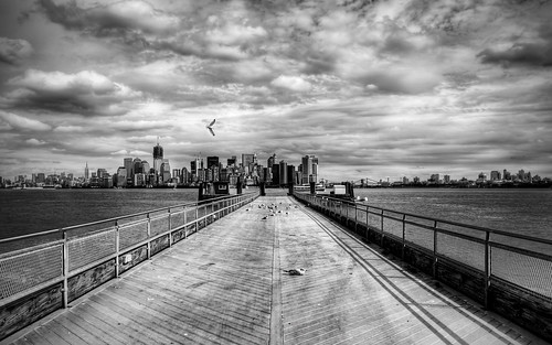 Liberty Island Pier by Thomas Gehrke