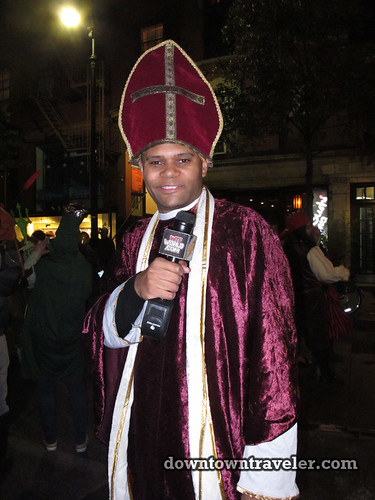 NYC Village Halloween Parade 2011_Pope