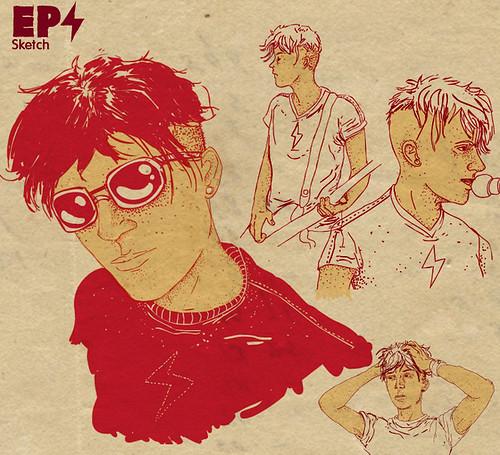 EP comic - sketch3