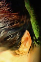(Jean-Marc Valladier) Tags: portrait woman wet face ear hairs artisawoman