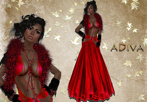 aDiva couture Contes Gown Classy
