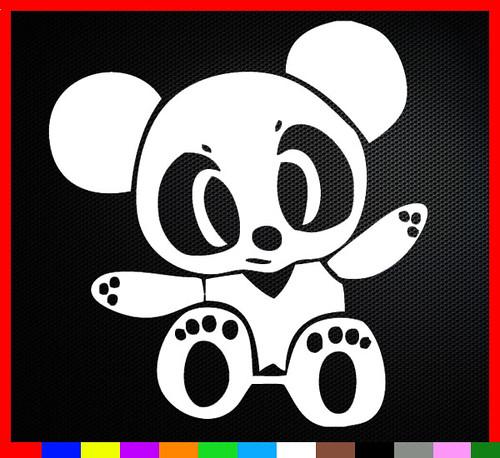 Jdm Panda Team Domo Kun Shocker Japan Decal Sticker New Car