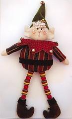mini duende (Miss Lele 2011) Tags: christmas natal pattern felt feltro molde
