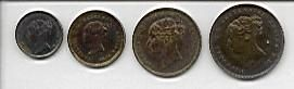 1841 Maundy coins