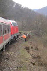 On the Climb (Concorps) Tags: railroad travel vacation river germany deutschland landscapes scenery sony transport scenic eisenbahn rail railway trains german valley gorge  bahn rhein  rheinland pfalz tal spoor koblenz boppard spoorwegen           olympusx350   d575z dscw220  c360z