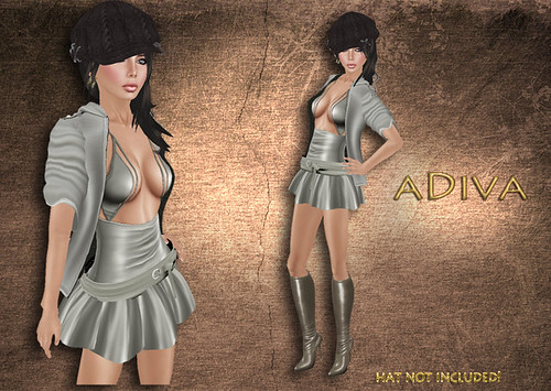 aDiva couture Mila jacket Skirt Outfit