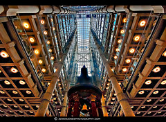 Lutine Bell Lloyds of London (Edwinjones) Tags: pictures city color colour london texture glass architecture reflections concrete photography lights photo office colours floor bell photos interior sony columns perspective picture photographers sigma wideangle pic ceiling inside openspace dslr atrium openhouse hdr highdynamicrange lloyds offices bishopsgate insideout londonopenhouse lloydsbuilding openplan richardrogers lloydsoflondon 2011 squaremile officefurniture photomatix tonemapped tonemapping dslra550 luteinebell