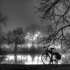 Fog, Night & Reflection - #2 (r-h-b (222.222...T H A N K S !!!)) Tags: bw water fog reflections long exposure nightshot 150 silence 500 1001nights hdr 900 rhb 2xp theworldwelivein supershot platinumheartaward absoluteblackandwhite absolutegoldenmasterpiece ringexcellence dblringexcellence tplringexcellence pipexcellence truthandillusion eltringexcellence masterclasselite peregrino27blackwhite rememberthatmomentlevel1 rememberthatmomentlevel2 rememberthatmomentlevel3