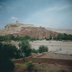 Ait Benhaddou lomo 2 (sonofwalrus) Tags: africa city film architecture buildings holga lomo mud scan graphs morocco aitbenhaddou   hpc5380