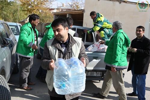 Turkey, Van earthquake, IHH relief effort, November 2011