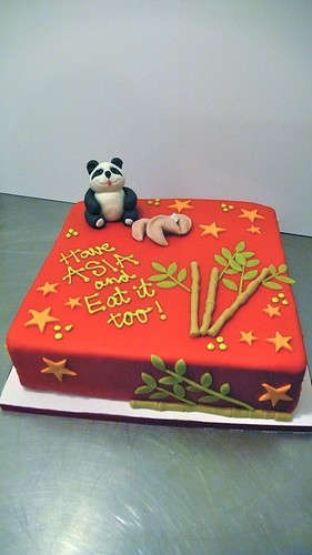 ASIA themed birthday cake by CAKE Amsterdam - Cakes by ZOBOT