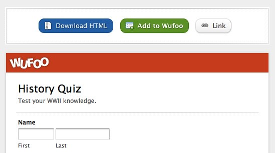 How to Create and Grade Quizzes using Wufoo, Python and