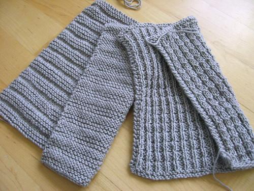 grey cotlin washclothes