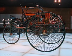 Mercedes-Benz Museum - Benz Patent-Motorwagen 1886