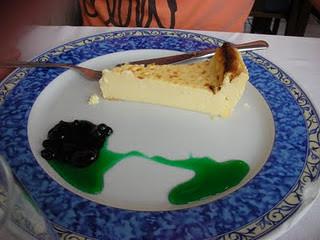 La Guardia (Pontevedra) | Restaurante Trasmallo | Tarta de queso al horno