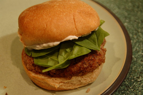 ... with veggie burgers pecan mushroom burgers with gorgonzola sauce