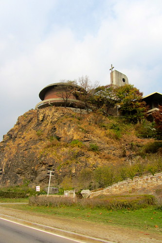 Church on a cliff.