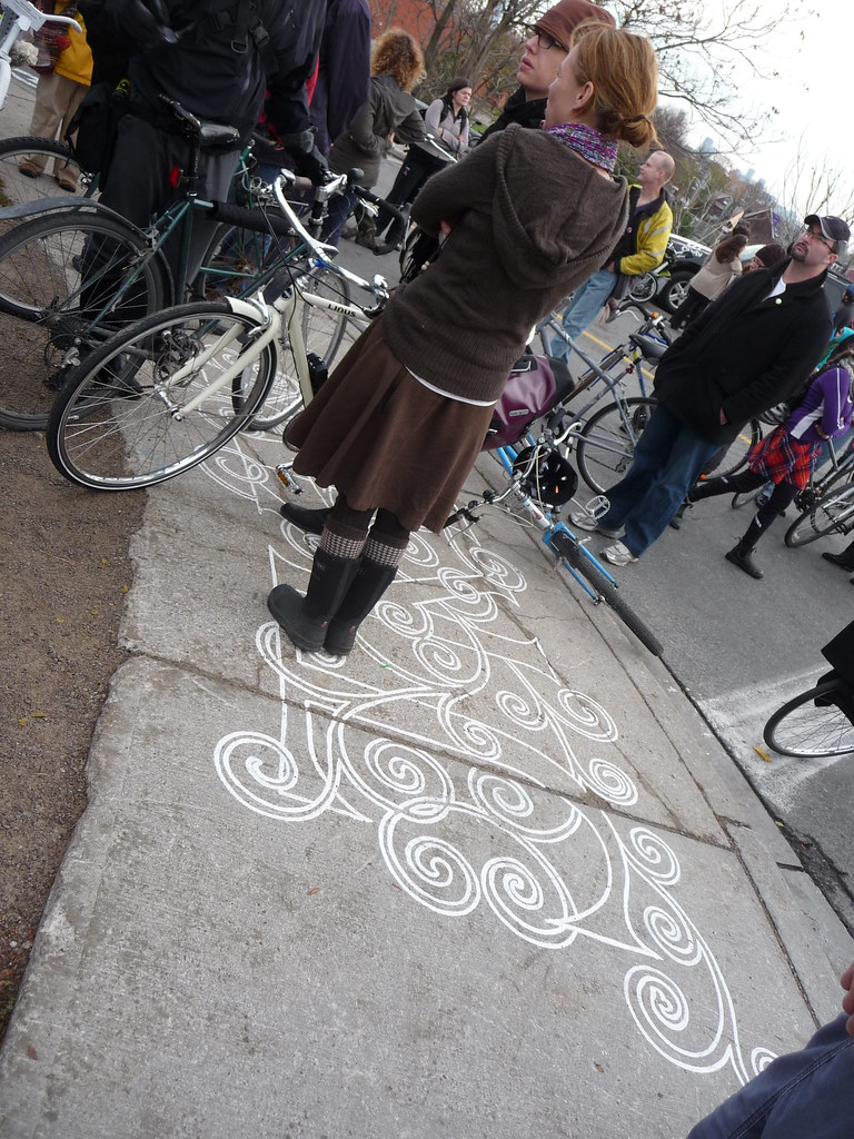 Sidewalk Chalking