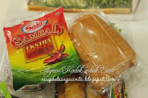 Ayam Kodok Pesanan mbak Evy, Palembang