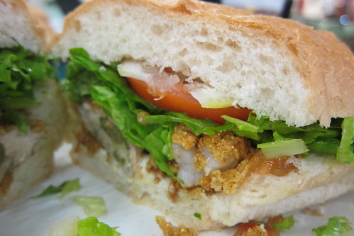 The Gumbo Pot: Shrimp & Oyster Po'boy