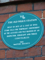 Photo of Green plaque number 6956
