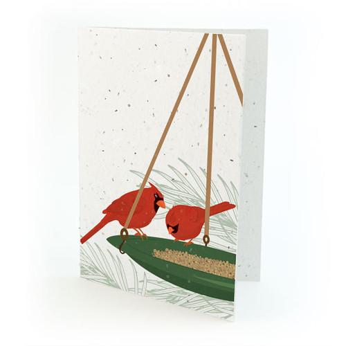 Plantable Christmas card