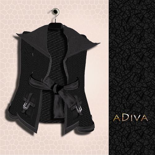 aDiva couture Alissa Jacket Ad