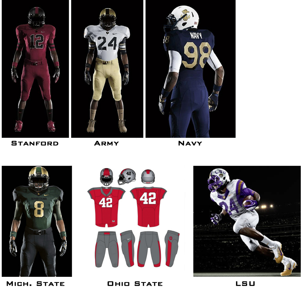 2bd0190a Uni Watch examines how uniform changes affect the work of football ...