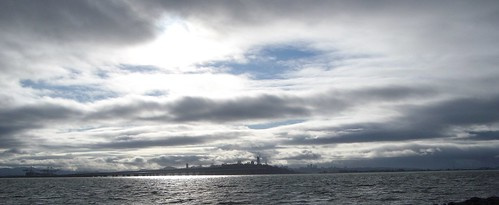 view from marina park, emeryville
