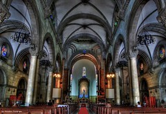 manila cathedral (Rex Montalban Photography) Tags: philippines manila hdr intramuros manilacathedral rexmontalbanphotography