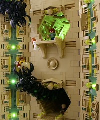 Chasm (Bart De Dobbelaer) Tags: lego space hex diorama