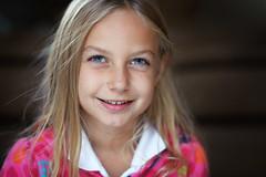 Lilia (JN) Tags: light portrait bw smile nikon dof child natural shallow toned reflector lilia 85mmf14g d700