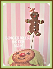gingerbread man pin topper (Pinks & Needles (used to be Gigi & Big Red)) Tags: quilt sewing craft sew pincushion etsy gigiminor pinksandneedles pintoppers pintopper sewingpin
