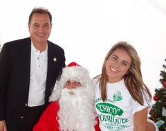 "Santa with Commissioner Rodriguez and campaign volunteer Emily Gonzalez-Vasquez • <a style=""font-size:0.8em;"" href=""http://www.flickr.com/photos/65105168@N06/6377190579/"" target=""_blank"">View on Flickr</a>"