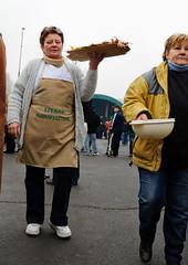 X11_0025 (neonzu1) Tags: people food festival rural outdoors pig countryside women hungary village meat apron pork participant cookoff competitor somogy eventphotography szenna hurka zselic szennaihurkafesztivl jmagyarorszgvidkfejlesztsiprogram newhungaryruraldevelopmentprogramme